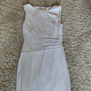 Cache White Dress Size 4